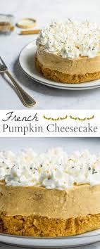 pumpkin cheesecake mon petit four