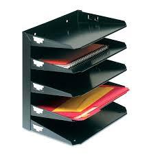 fancy desk file organizer design metal mesh desktop sorter folders
