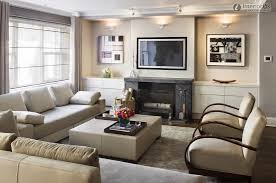 how to decorate a living room with fireplace and tv