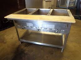 serving line steam tables 43 3 pan restaurant electric steam table buffet food warmer 120
