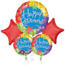 retirement balloon delivery happy retirement bouquet of balloons portland balloon delivery