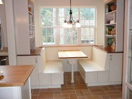 small kitchen nook ideas dining room white themed breakfast nook with vertical shelves