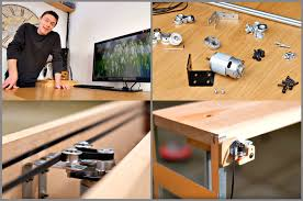 Diy Motorized Desk Diy Build An Affordable Motorized Monitor Lift For Your Desk