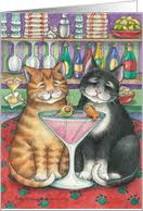 cards with cats from greeting card universe