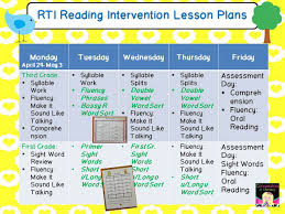 rti reading intervention lesson plans and resources ideas to help