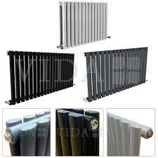 puro wide designer radiator black white anthracite u2013 vida homes