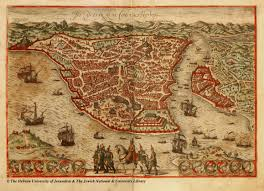 Constantinople Europe Map Free Here by A Beautiful 1566 Map Of Constantinople Istanbul 1024x692 Mapporn