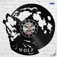 online get cheap wolf wall clock aliexpress com alibaba group