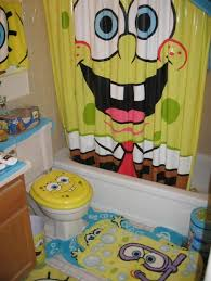 bathroom theme spongebob bathroom decor yellow home interiors