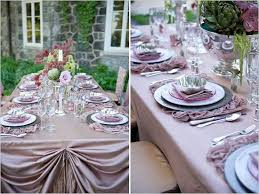 mauve and light purple wedding reception table decor wedding