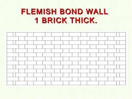 tutor l1 brickwork bonding