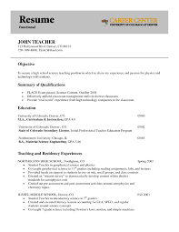 Sample Resume Objectives For Special Education Teachers by Early Childhood Resume Objective Resume For Your Job Application