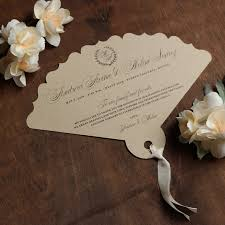 custom wedding programs laser cut fan wedding programs custom wedding programs fan
