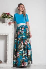 maxi floral dress evening blue dress floor prom dress long sleeves