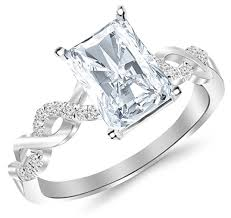radiant split shank engagement rings for a truly special moment