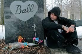 the gravesite of lucille ball in jamestown new york youtube