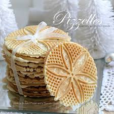 pizzelles a favorite italian cookie flavored with anise
