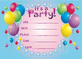 printable birthday party invitations u2013 gangcraft net