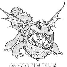 hiccup girlfriend astrid train dragon coloring pages