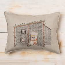 coral u0026 tusk wolf gunsmith cabin pocket pillow k colette