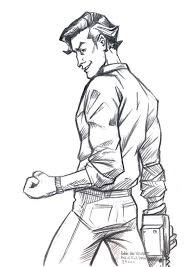 daily sketches ash evil dead by fedde on deviantart