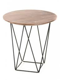 Wire Coffee Table Wood Wire Side Table Brickell Collection Modern Furniture