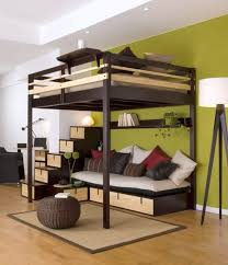 19 cool loft bed with stairs designs