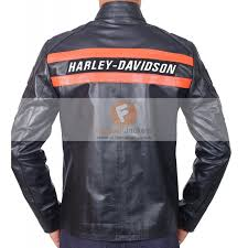 Cowhide Leather Vest Davidson Wrestler Goldberg Black Cowhide Leather Jacket