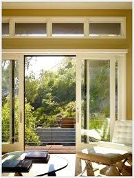 Glass Door With Dog Door Built In by 5 Foot Sliding Glass Door With Blinds 5 Ft Sliding Patio Doors