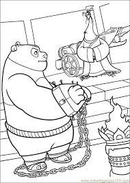 kung fu panda 2 19 coloring free kung fu panda coloring