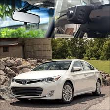 toyota avalon type for toyota avalon app car wifi dvr driving recorder