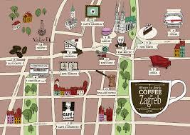 Zagreb Map Hjarne Kaiser