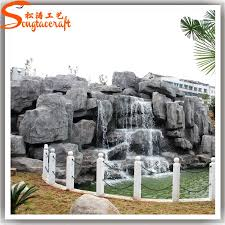 Artificial Landscape Rocks by Artificial Rock Waterfall Artificial Rock Waterfall Suppliers And