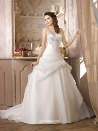 one shoulder wedding dress jewelled one shoulder organza up winter wedding dress