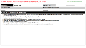 Medical Scribe Resume Example by Medical Scribe Job Descriptions