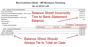 Balance Sheet Reconciliation Template Marty Zigman On Solving Netsuite Bank Reconciliations Differences