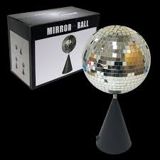 disco mirror on rotating stand 6