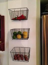 wall fruit basket 21 diy fruit and veggie storage ideas