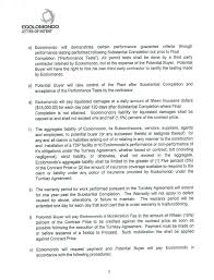 Letter Of Intent To Sign Contract by Addendum To A Letter Of Intent Of May 14 2014 By Ecolomondo Corp Inc