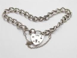 silver chain bracelet ebay images Vintage silver bracelet ebay JPG
