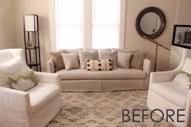 bedroom comfortable white leather sofa with zgallerie furniture