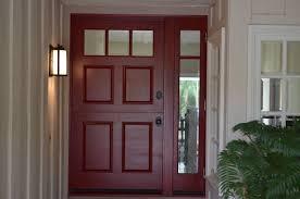 custom wood door 42 u0027 u0027 with full glass side light www