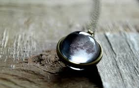 moon necklace images Custom moon phase necklace moon phase pendant birth moon jpg