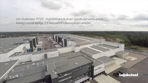 in ex ptdc logistiikkakeskus sipoo youtube