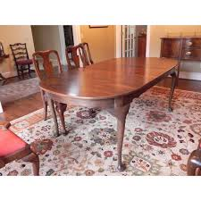 Queen Anne Dining Room Furniture by Henkel Harris Queen Anne Style Dining Set Chairish