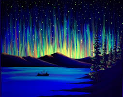 how to paint northern lights paint nite special black light northern lights the way