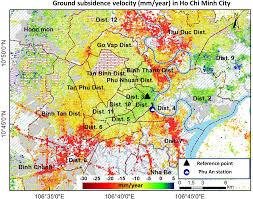 Map Colors Remote Sensing Free Full Text Mapping Ground Subsidence