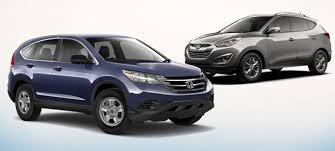 hyundai tucson or honda crv compare 2014 honda cr v vs hyundai tucson honda dealer serving