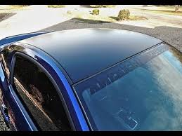Black Mustang 2013 2013 Ford Mustang Gt Matte Black Boss 302 Style Roof Decal