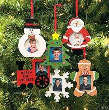 wooden photo frame ornaments box of 12